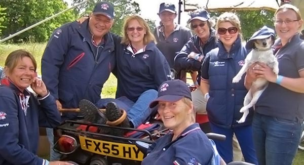 Carriage Driving Sports Group for drivers with disabilities - What's